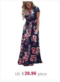 c9e017d4945f 2018 Women Summer Long Maxi Dress Casual Cat Print Boho Beach Dress ...