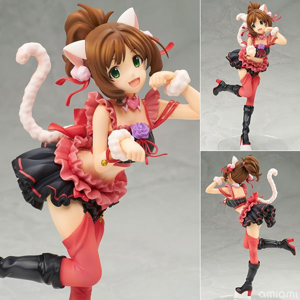 THE IDOLM@STER Cinderella Girls Maekawa Miku 1/8 Scale Pre-Painted PVC Action Figure Collectible Model Toy 20cm KT3307