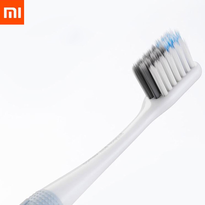 Xiaomi Doctor B Toothbrush Bass Method Sandwish-bedded Brush 4 Colors/set Include Travel Box Toothbrush For Smart Home image