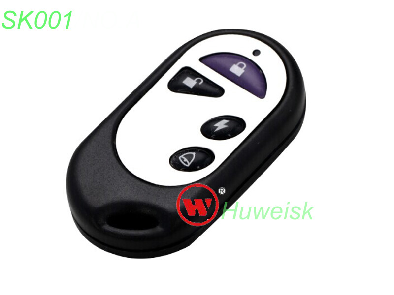 100pcs lot SK001A waterproof NO A fixed code copy remote adjustable frequency sub remote key for