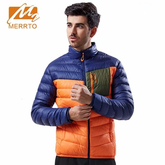 2017 Merrto winter jacket men Windbreaker Warm Down Jacket Sports Camping Hiking Jackets for men Autumn Winter Jacket Men 19199