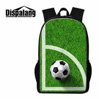 Dispalang Soccerly School Backpacks for Teen Boys Cool Shoulder bookbags Mochilas for Teenager guys Children's Back pack bagpack