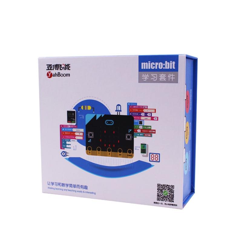 Mikro: nieco się dobrze bawić, zestaw Microbit graficzny tablica programowania macierzystych w Części i akcesoria od Zabawki i hobby na  Grupa 2