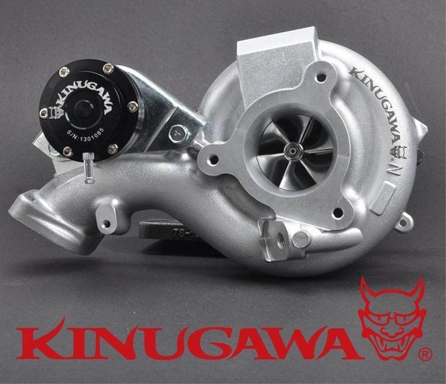 Kinugawa boleto td05h-18g bolt-on para mitsubishi 4b11t turbocharger evo 10