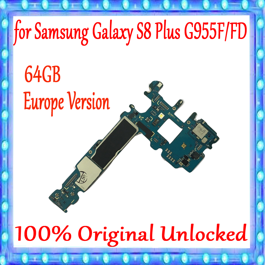 100% Tested For Samsung Galaxy S8 Plus G955F G955FD Original Unlocked Motherboard 64GB,with Android System EUVersion Mainboard100% Tested For Samsung Galaxy S8 Plus G955F G955FD Original Unlocked Motherboard 64GB,with Android System EUVersion Mainboard