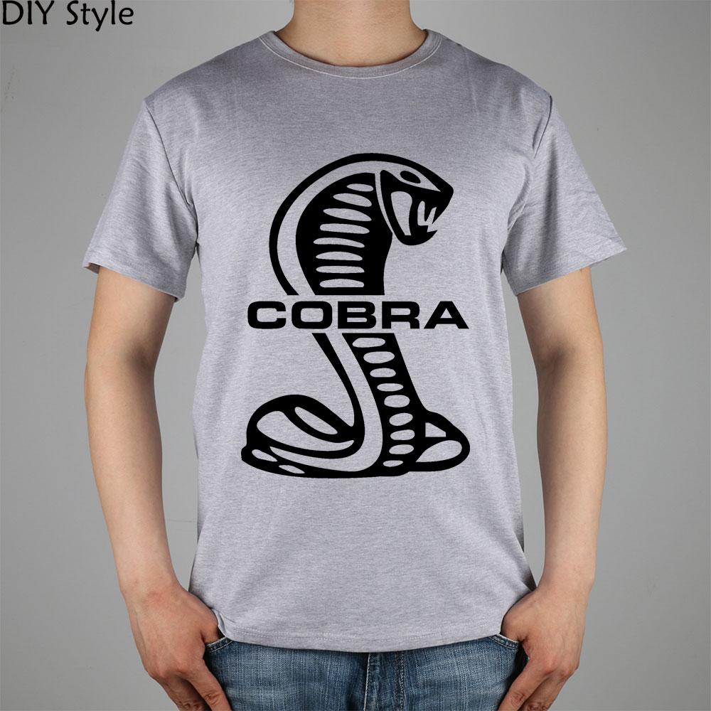 COBRA SCHLANGE PN SHELBY SUPER T-Shirt Top Lycra Baumwolle Männer T-Shirt Neues Design Hochwertige digitale Tintenstrahldruck