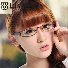 Prescription แว่นตาโลหะกรอบแว่นตา ชายกรอบแว่นตาผู้หญิงสายตาสั้น 2020