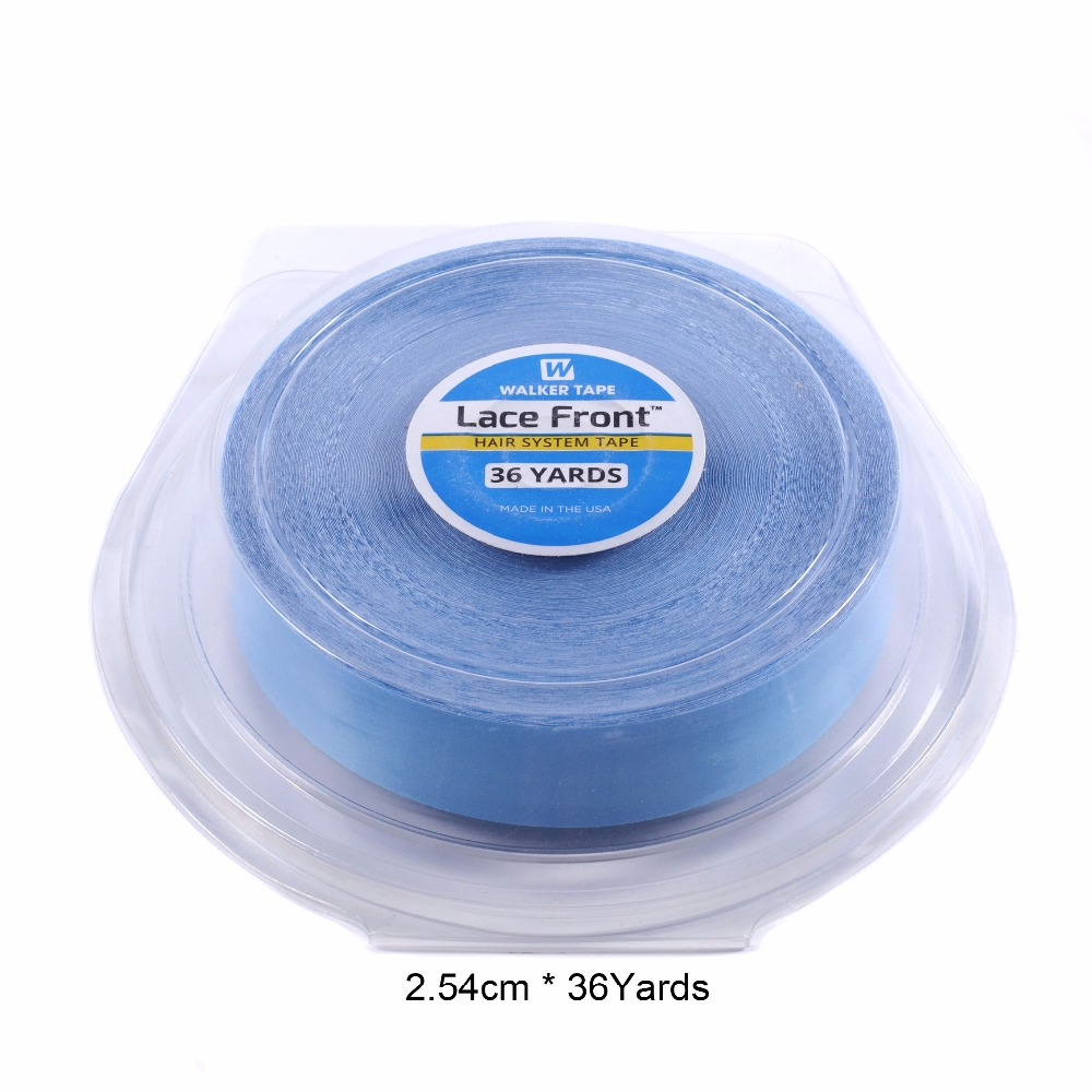 Hot Sales 1inch 36yard Lace Front Support Blue Double