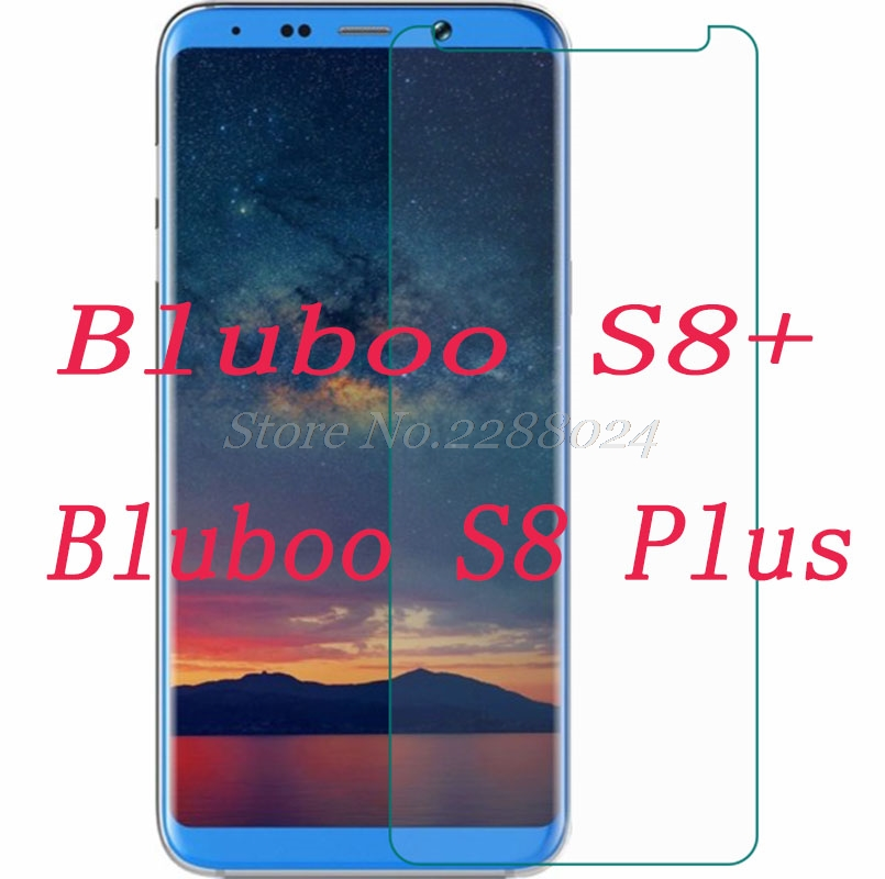 Smartphone 9H Tempered Glass  for Bluboo S8+ S8 Plus S8Plus 6  Explosion-proof Protective Film Screen Protector cover phoneSmartphone 9H Tempered Glass  for Bluboo S8+ S8 Plus S8Plus 6  Explosion-proof Protective Film Screen Protector cover phone