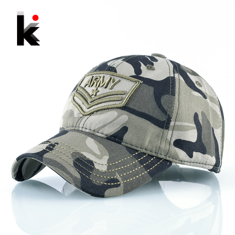 Army Camouflage Baseball Cap Navy Seal Tactical Snapback Hat Unisex Men Women
