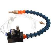 1Pcs 8mm Air Pipe Mist Coolant Lubrication Spray System For CNC Lathe Milling Drill Grind Machine