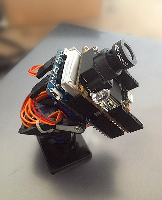 Openmv Servo Head Pan + Lithium Battery Charge and Discharge Management Expansion Board цена и фото