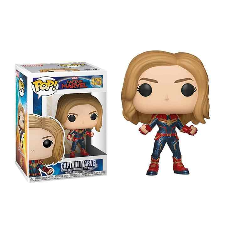 434a85d1 ... Funko POP Movie Captain Marvel Vinyl Doll Boy Girl Friend Birthday  Action Figure Collectible Toys ...