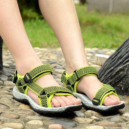 Кролик Мягкой Подошвой 2017 Летние дети мальчиков сандалии для детей мальчиков пляжная обувь Из Натуральной Кожи дети летние случайные спортивная обувь