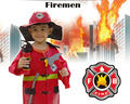 Milankerr Hight Quliaty Kids Cosplay Sam Fireman Costume Child Halloween Firefighter Christmas Fancy Party Wear Cosplay Fireman