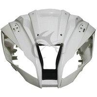 Верхний передний обтекатель клобук нос для Kawasaki ZX10R ZX 10R 2011 2017 Неокрашенный мотоцикл Accessorries
