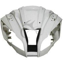 Superior Frontal Da Carenagem Cowl Nose Para Kawasaki ZX10R ZX-10R 2011-2017 Unpainted Motocicleta Accessorries
