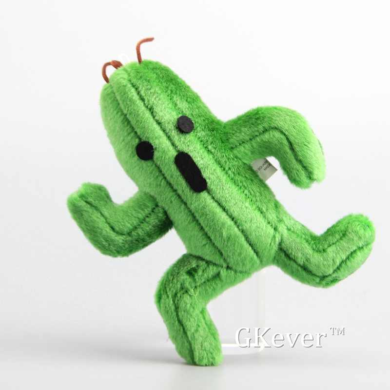 Final Fantasy Cactus Sabotender Cactuar Plush Toys Soft Stuffed Dolls 25 cm Kids Gift