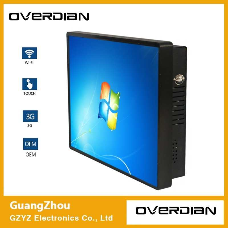 10/10. 4 Inch In Een Industriële Computer WIN7 Systeem Capacitieve Touchscreen Windows Computer Embedded Vaste Oor Computer