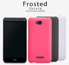 Оригинал Nillkin Матовый Shield Сотовый телефон чехол для HTC Desire 616 Пластиковые Жесткий Вернуться матовая Крышка Чехол Капа + Экран протектор