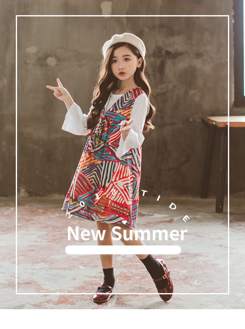 8c4c8186b 2019 Fashion Girls Autumn Dress 2018 Korean Style Children S Girl ...