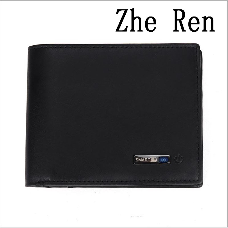 For men's trunks, Men real leather money mens purse intelligent bluetooth anti loss carteira fashion short wallet men Modis BTS цена