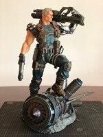 Новое поступление коллекция Worth 1/4 весы Marvel Дэдпул 2 кабель смола статуя Recast высокое качество