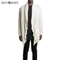 2017 Envmenst New Fashion Brand Casual Men S Solid Cardigan Sweatshirt No Button Designed Men Loose