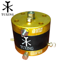 PCP air pump head high pressure 4500 psi 300 BAR 1 piece/lot
