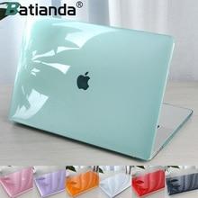 크리스탈 투명한 하드 케이스 Macbook Air Retina Pro 13 15 16 터치 바 A2251 A2289A2159 A1706 New AIR 13 2020 A1932