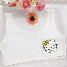 Kid Girl Training Bras Lovely Little Girl Printed Children Underclothes Outdoor Activity Undies Ropa Interior