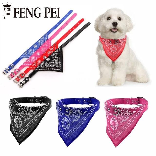 245ce3c6d 1 pc Ajustável Dog Bandana Cachecol Collar Cat Dog Pet Coleiras Cachorros  Quente Cachecol Lenço de