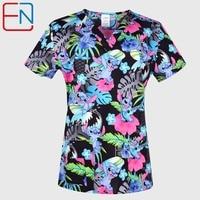 Hennar Women medical scrub tops in 100% cotton scrubs,women scrub tops,women medical uniforms
