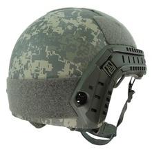 Camouflage Airsoft Lightweight FAST Base Jump Helmet MH type цена в Москве и Питере