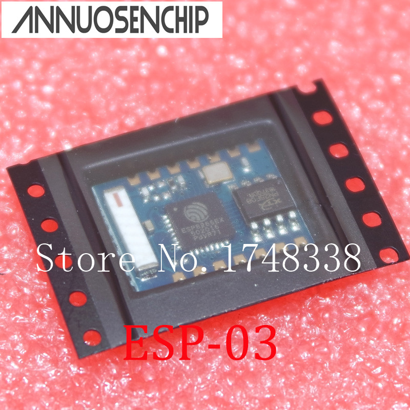10 PCS/LOT ESP8266 ESP-03 serial WIFI WIF transceiver wireless remote wireless control module ESP - 03 image