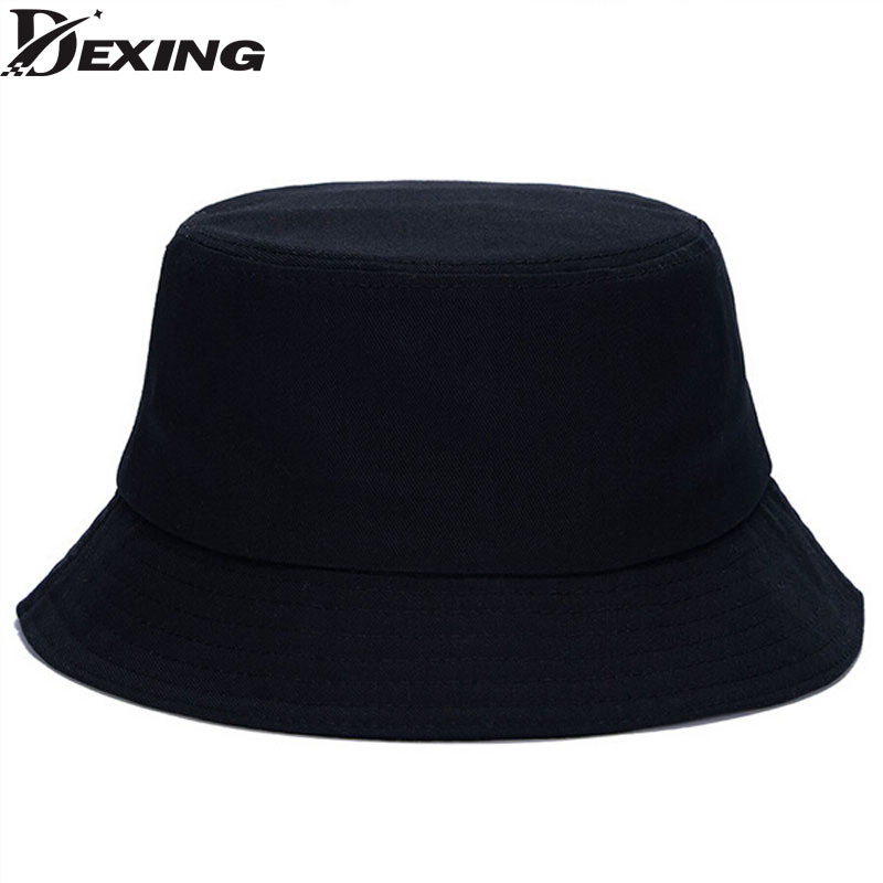10 Color Hot Summer Unisex Solid Flat Cotton Black White