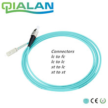 5 m LC SC FC ST UPC Optische Kabel Simplex OM3 Multimode PVC 2,0mm Fiber Optic Patch Kabel Faser patchkabel Optische Jumper