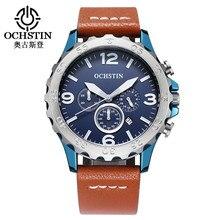 Reloj Men Watches Fashion Top Brand Luxury Men's Quartz Waterproof Watch Leather Strap Simple Calendar Dial Student Wristwatch цена 2017