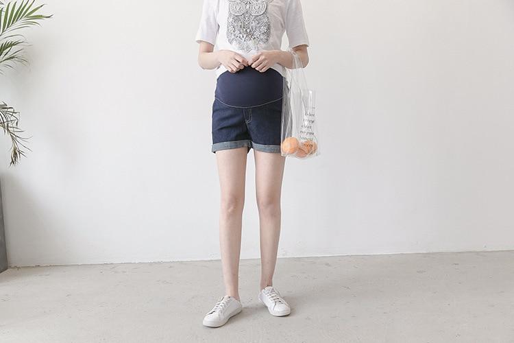 Verão de Moda de Maternidade roupas Curtas