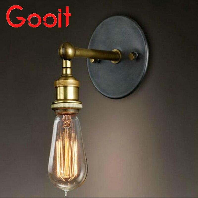 Retro hanglamp-schouw Industriële koperen hanglamp Edison - Binnenverlichting