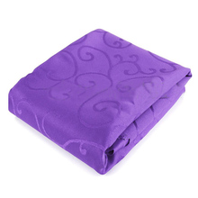 Square Tablecloths Catering Table Cover Wedding Party Restaurant Banquet  Decor 1.2*1.2m Purple