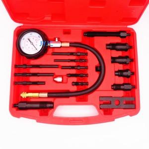 Image 2 - TU 15B Diesel Vehicle Engine Compression Tester Kit Cylinder Pressure Gauge Automotive Repair Diagnostic Testing Tools