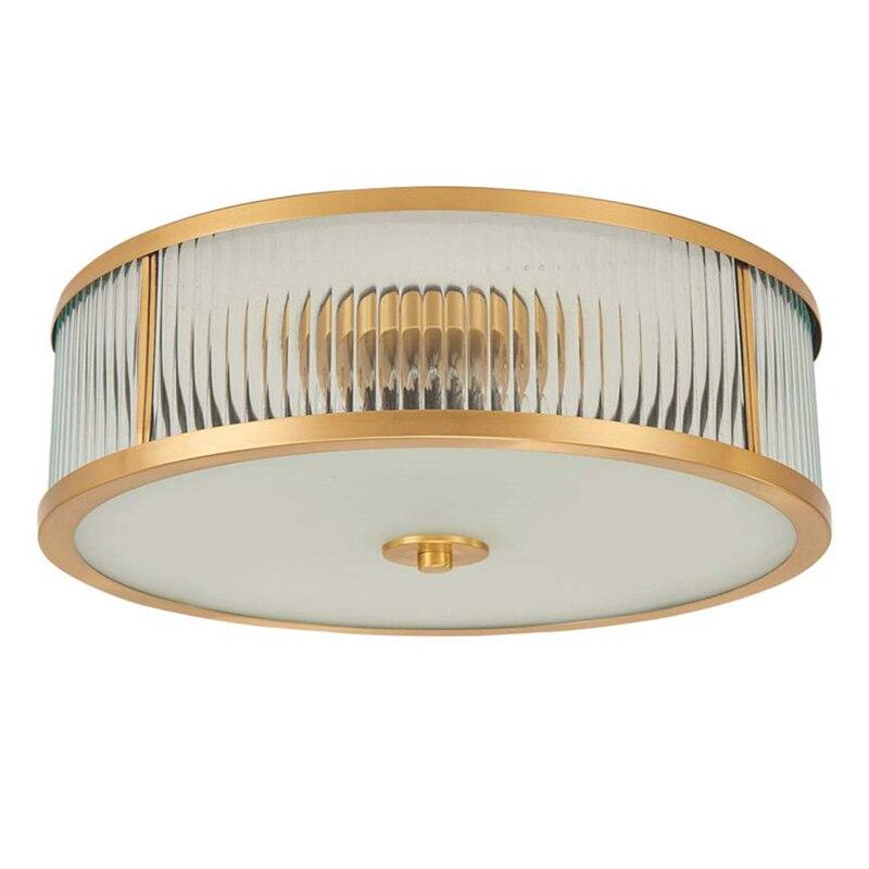 Brass Vintage LED Modern ceiling Light 5W led Lamp Toolery Home Lighting Living Room Lustre Flush Mount Ceiling Light Luminaire