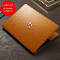 Pour Huawei Matebook X Pro cuir peau honneur magicbook 14 cuir couverture Matebook X pro 13 14 13.9 corps entier cuir Film pour