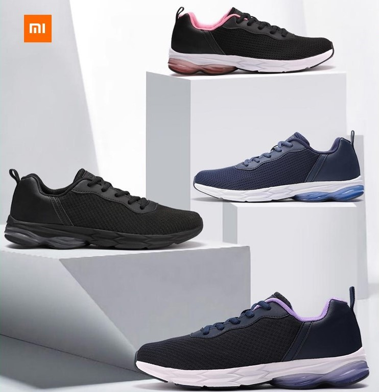 Original Xiaomi Youpin YUNCOO Shock Absorber Sports Shoes Shock Absorber Anti-Skid Breathable Sports Men Women Shoes