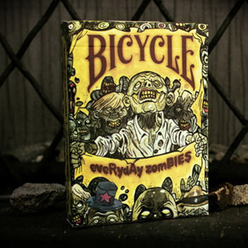 Bicycle Everyday Zombie Playing Cards New Poker Cards for Magician Collection Card Game ss16 virtuoso 2016 playing cards new poker cards for magician collection card game