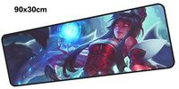 Ahri Mouse Pad Gamer 900x300mm Notbook Mouse Mat Large Gaming Mousepad Large Locked Edge Pad Mouse