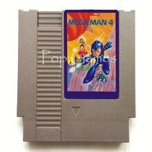 Mega Mann 4 Megaman 72 Pin Spiel Patrone für 8 Bit Video Spiel Konsole Region Freies Englisch Sprache