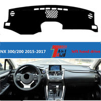 TAIJS Left Hand Drive Fashion Style Car Dashboard Pad Cover For Lexus NX 300 200 2015
