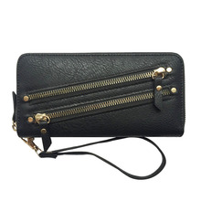 KANDRA High Quality Long Wallet Clutch Women Purses Fashion Zip Coin Purse Card Holder Wristlet Wallets Female Phone Bag 2019 недорого